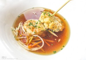 Kaspressknödel Suppe